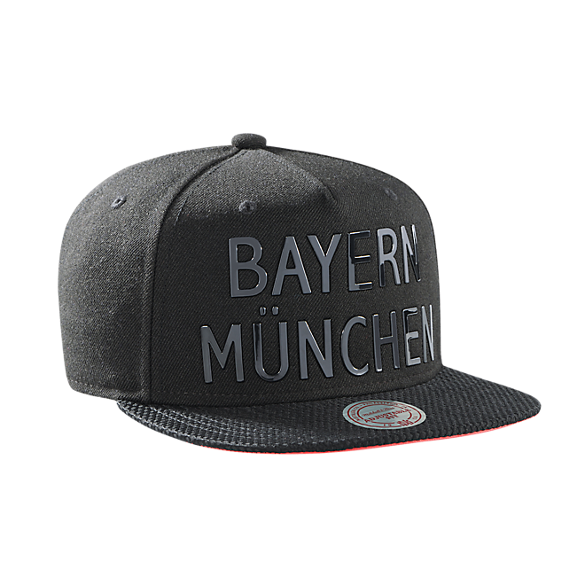 m n snapback cap bayern m nchen official fc bayern. Black Bedroom Furniture Sets. Home Design Ideas