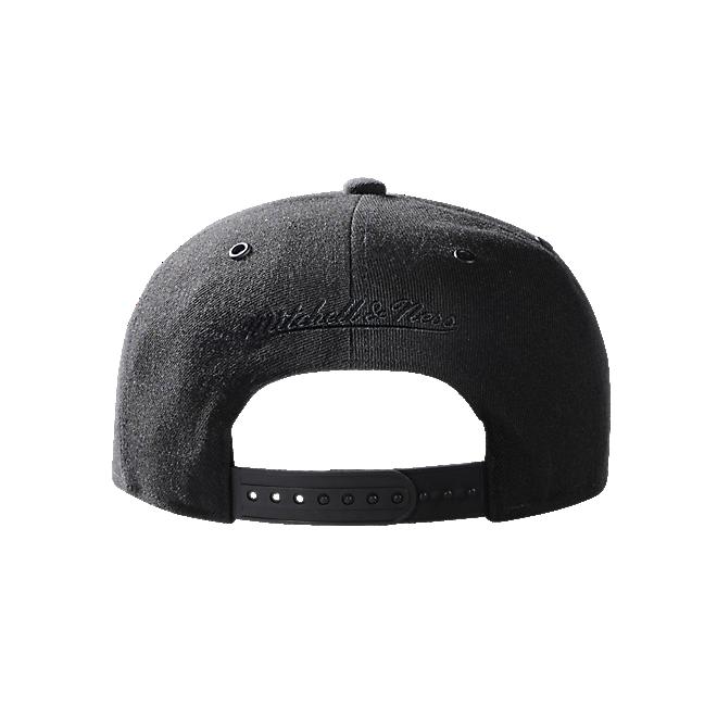 M&N Snapback Cap Black Logo