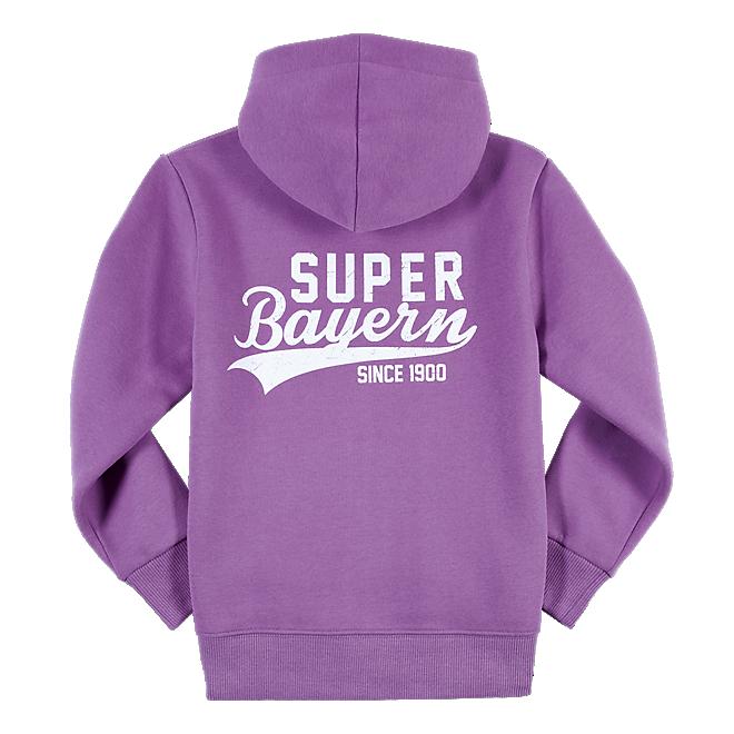 Mädchen Kapuzen Jacke Super Bayern