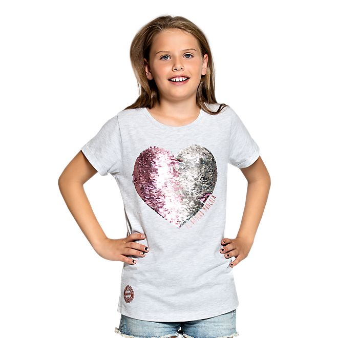 Girls T-Shirt Heart