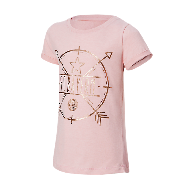 T-Shirt Girls rosegold