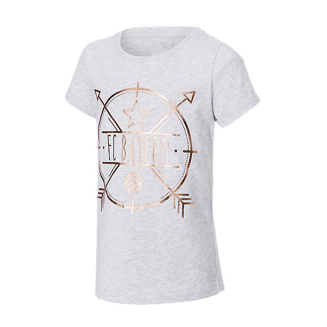 Mädchen T-Shirt Rosegold