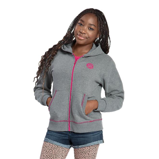 Mädchen Zip-Hoodie