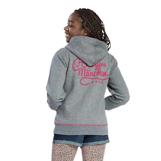 Girls Zip-Up Hoodie