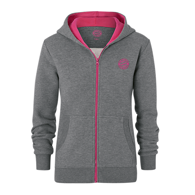 Girls Hoodie with Zipper