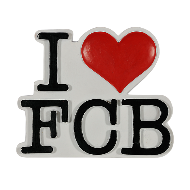 Magnet I love FCB