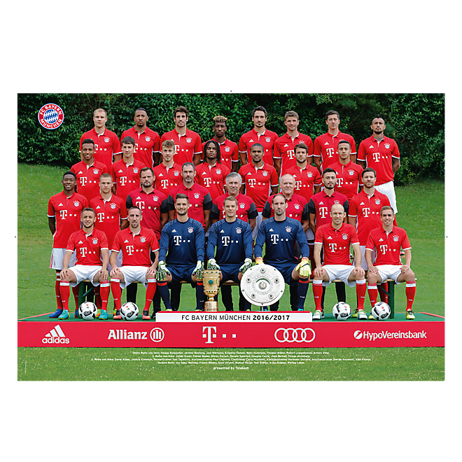 2016/17 Team Poster