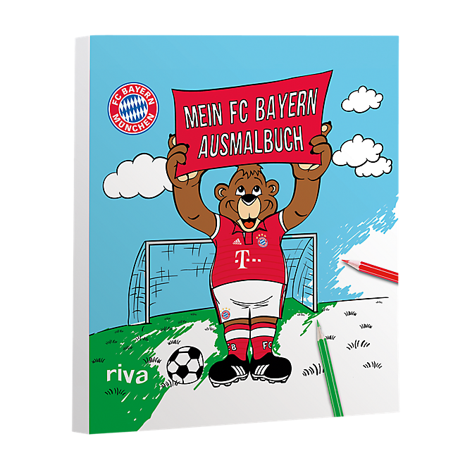 My FC Bayern color book