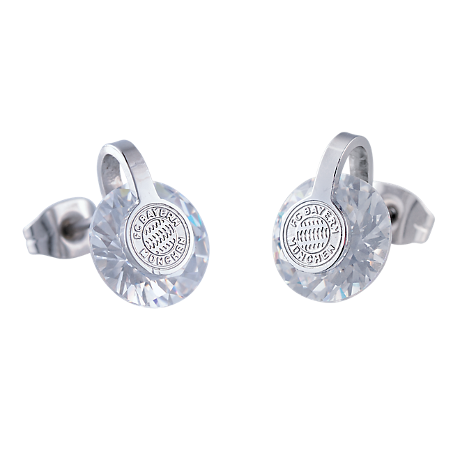 Crystal Ear Studs (Set of 2)