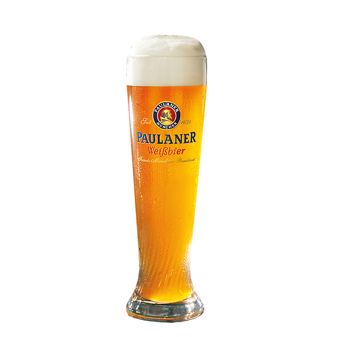 Paulaner White Beer Glass