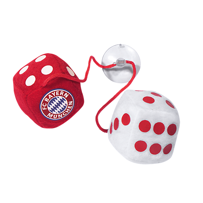 Plüschwürfel FC Bayern