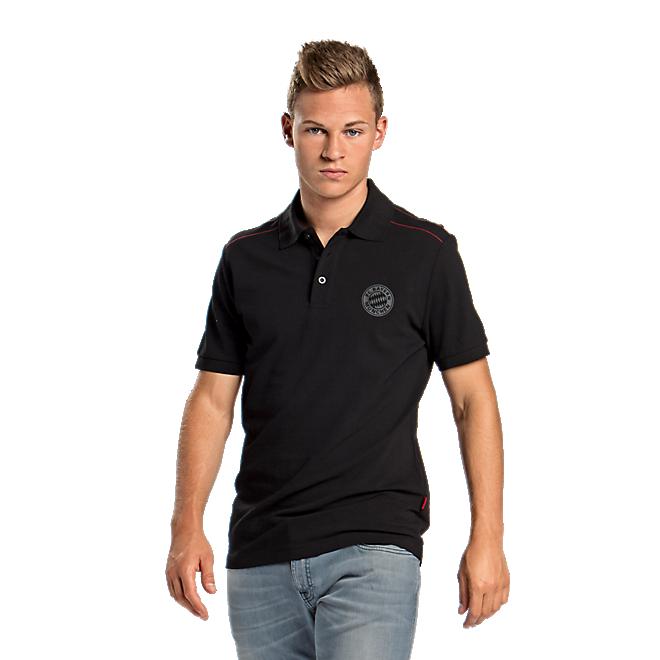Poloshirt Black Logo