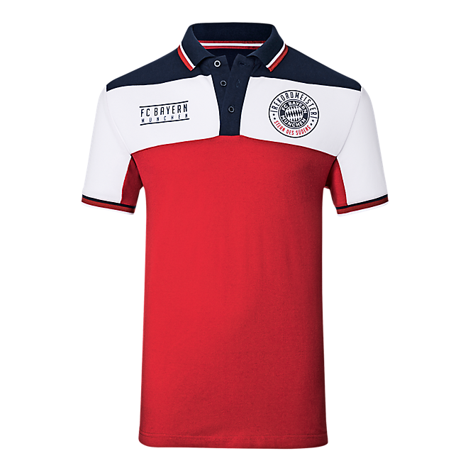 Polo Shirt Rekordmeister Red