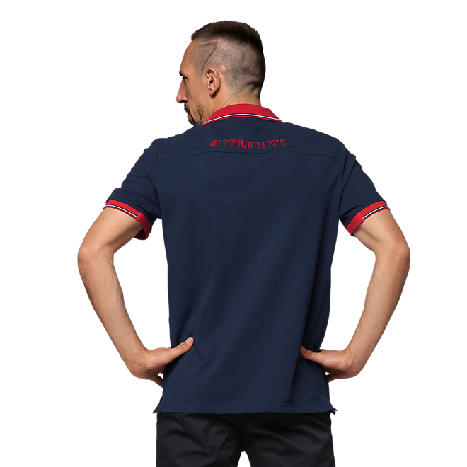 Polo Shirt Rekordmeister Navy