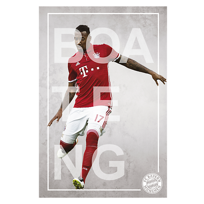 Poster Spieler Boateng