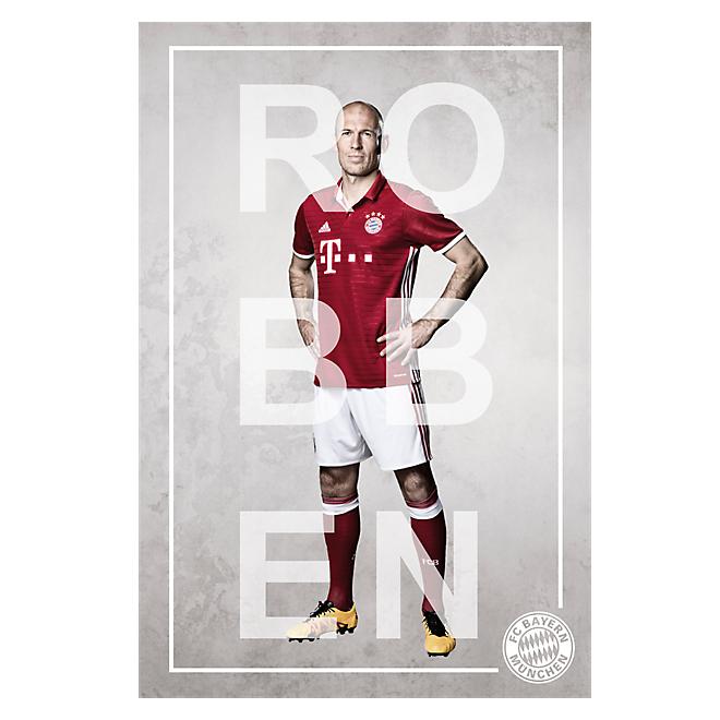 Poster Spieler Robben