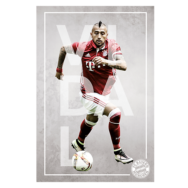Poster Player Vidal