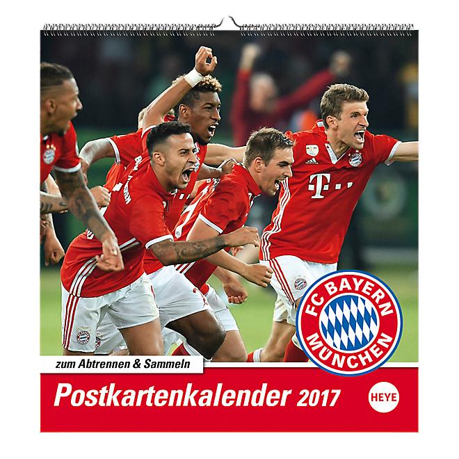 Calendar Postcards 2017