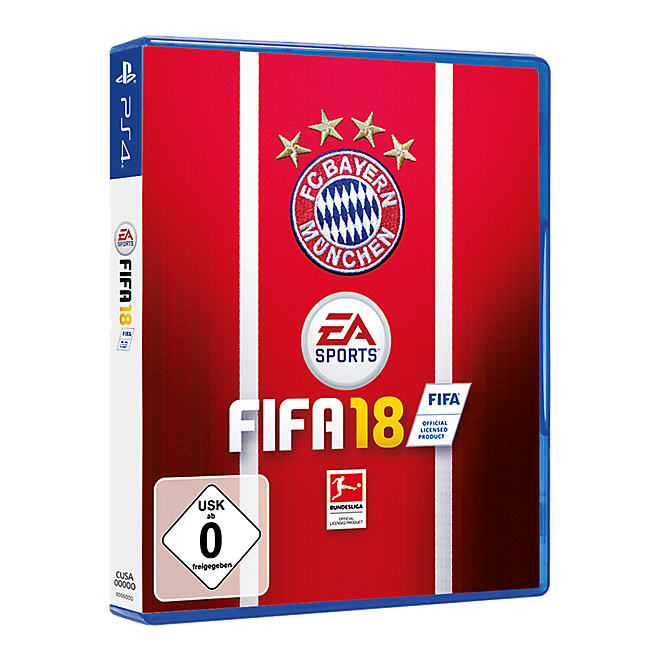 PS4 FIFA 18 FC Bayern Edition