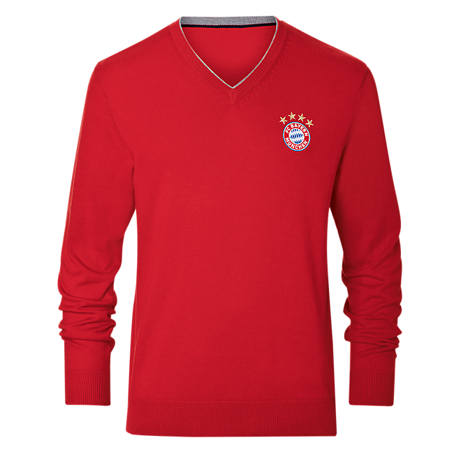 pullover logo official fc bayern online store