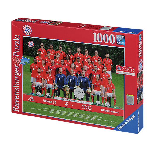 Puzzle Squad Photo 2016/17 (1000 pieces)