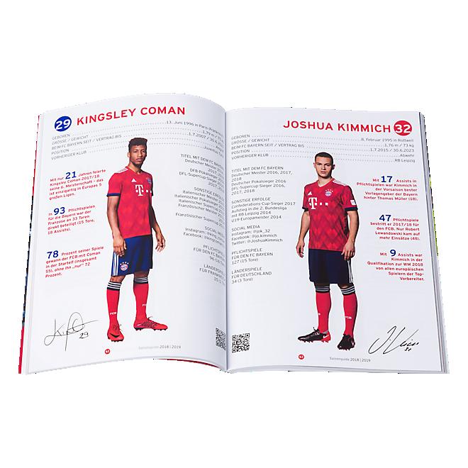 Season Guide 2018/19