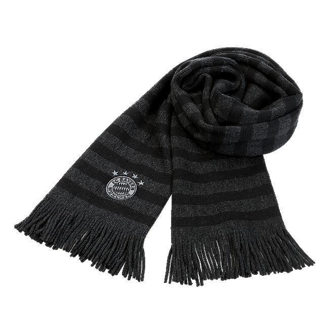 Merino Wool Stripy Scarf