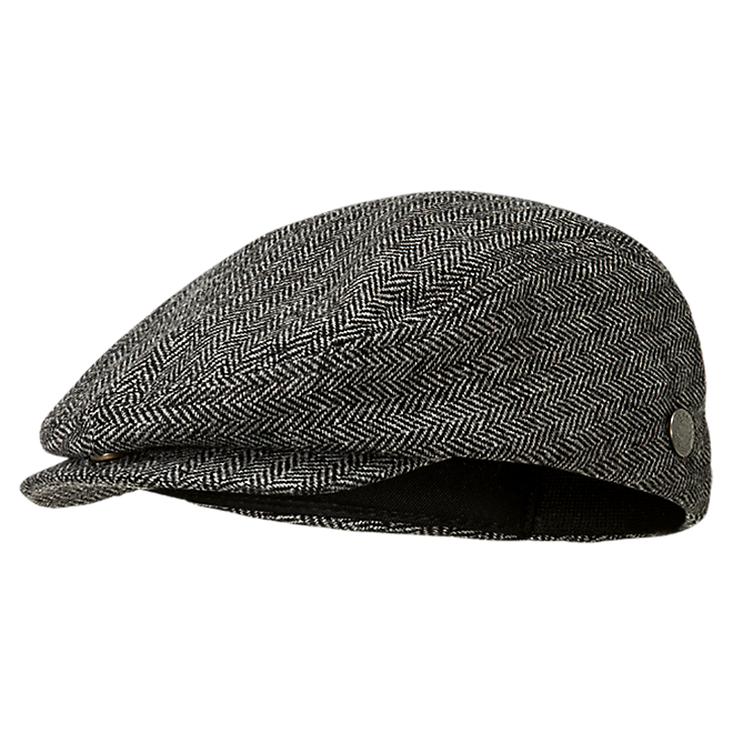 Flat Cap with Pin