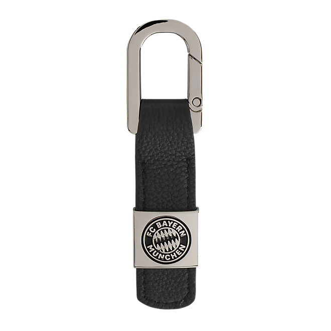 Keyring Leather Logo