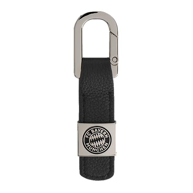 Schlüsselanhänger Leder Logo