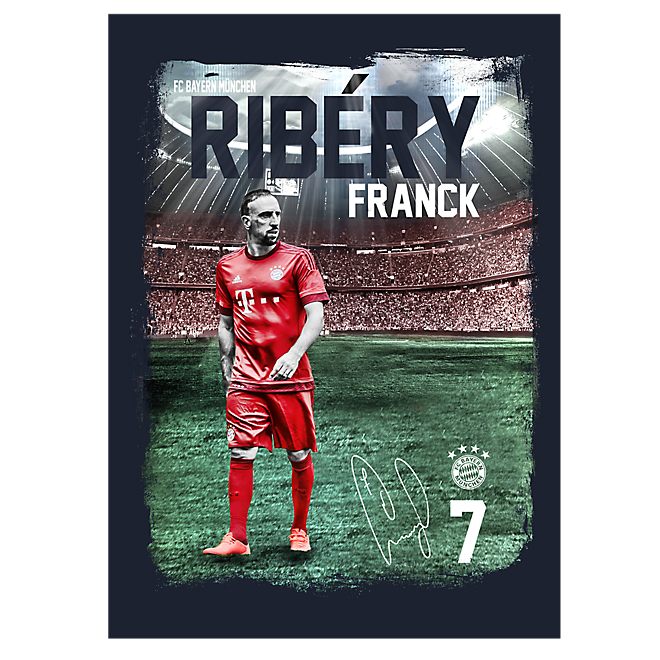 Player poster Franck Ribéry