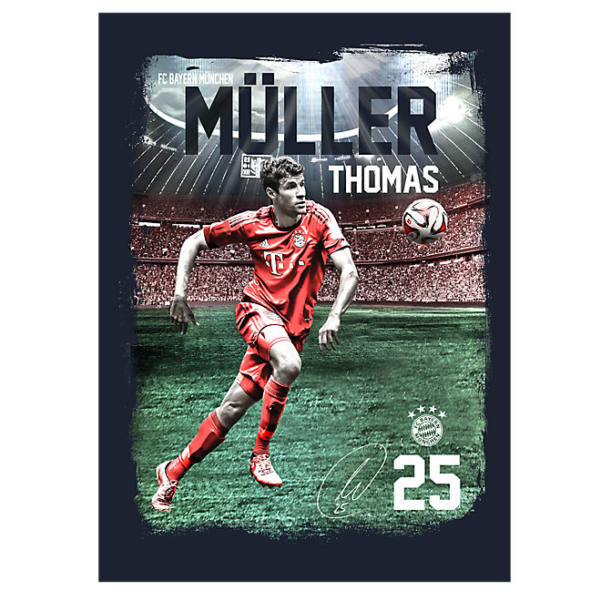 Spielerposter Thomas Müller