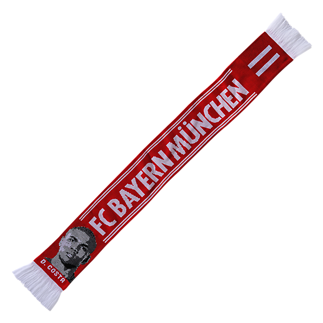 Player scarf Douglas Costa
