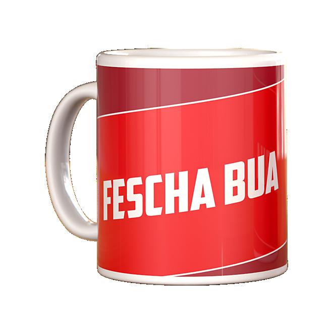 Sprüchetasse Fescha Bua
