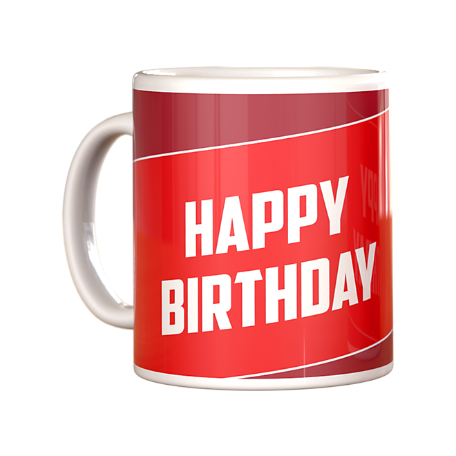Sprüchetasse Happy Birthday