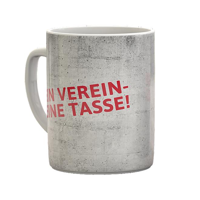 Sprüchetasse Mein Verein - Meine Tasse!