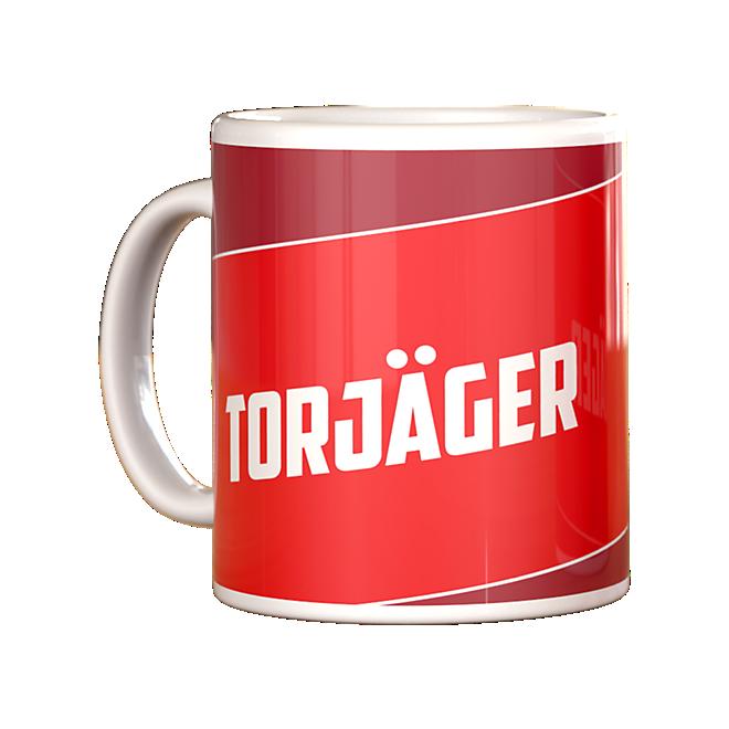 Sprüchetasse Torjäger