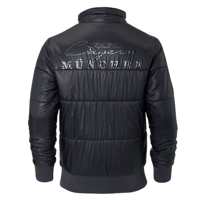 Quilted Jacket Rekordmeister anthra