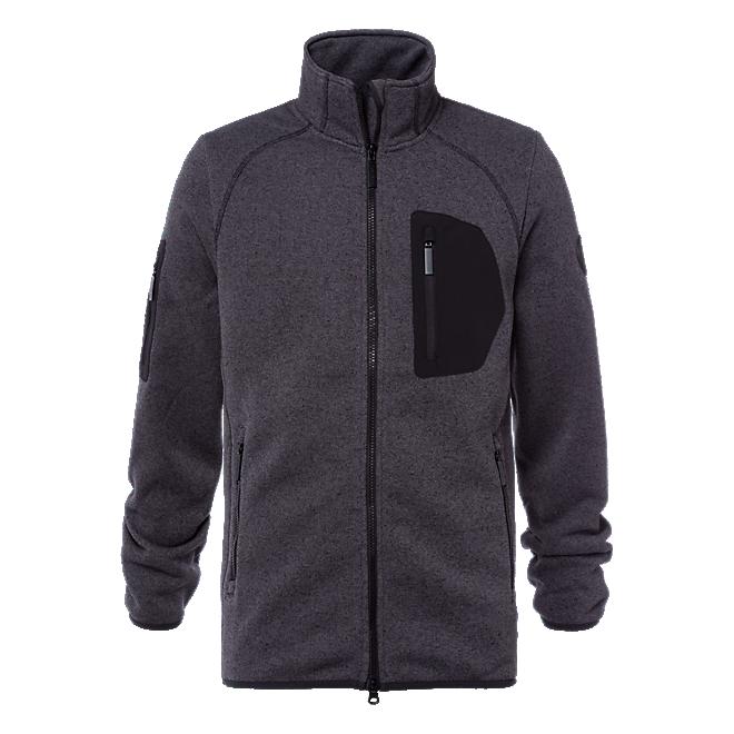 Knitted Fleece Jacket