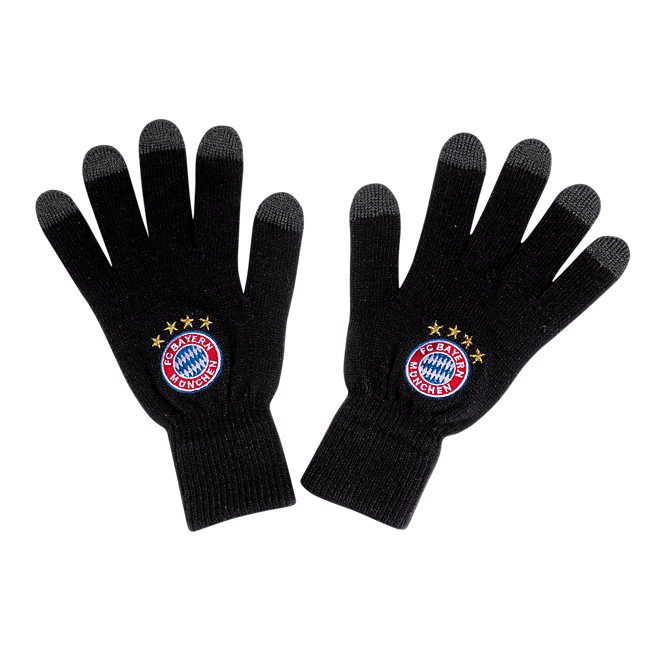 Knitted Gloves Logo Touch