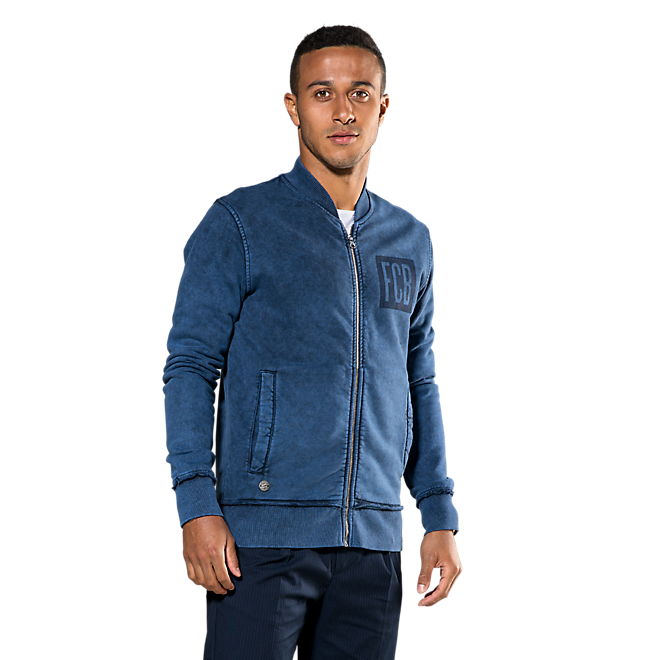 Sweat Jacket Indigo
