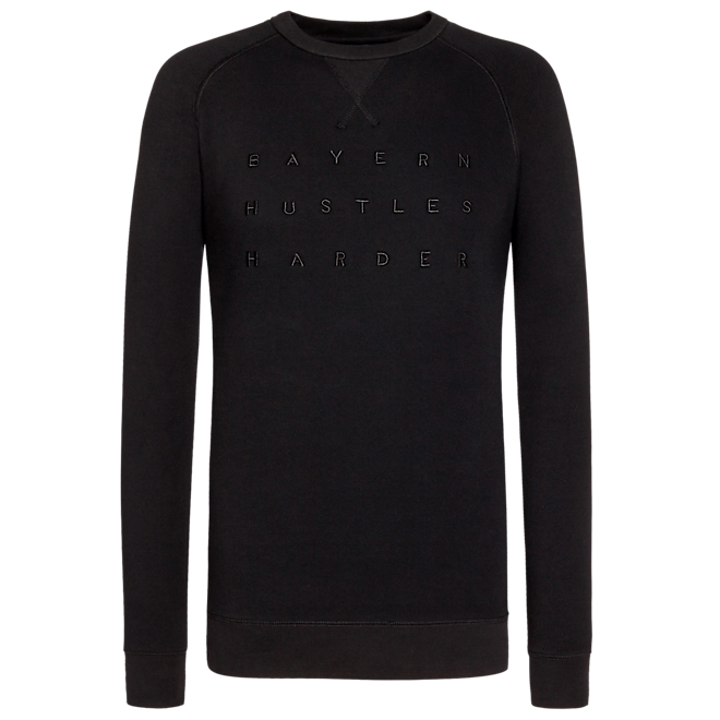 Sweatshirt Basketball Hustles Harder black