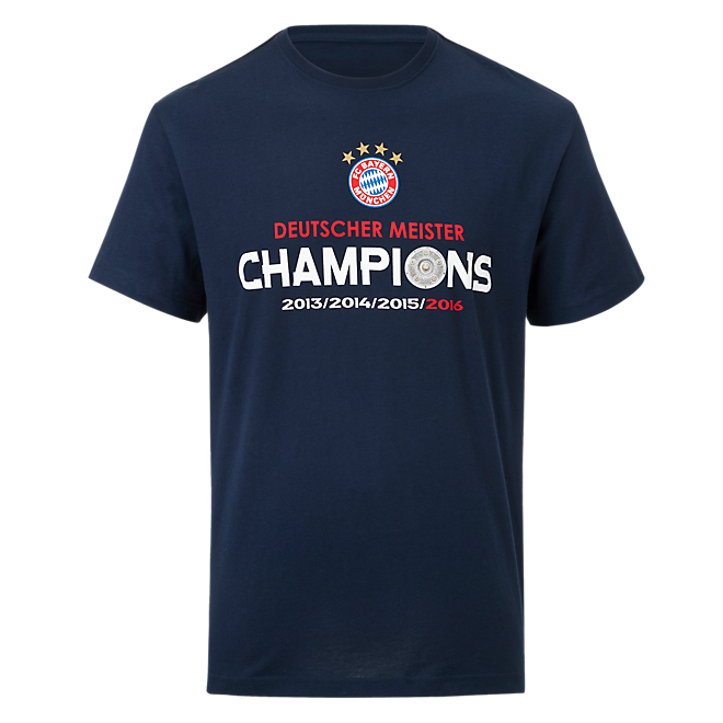 T-Shirt Deutscher Meister 2016