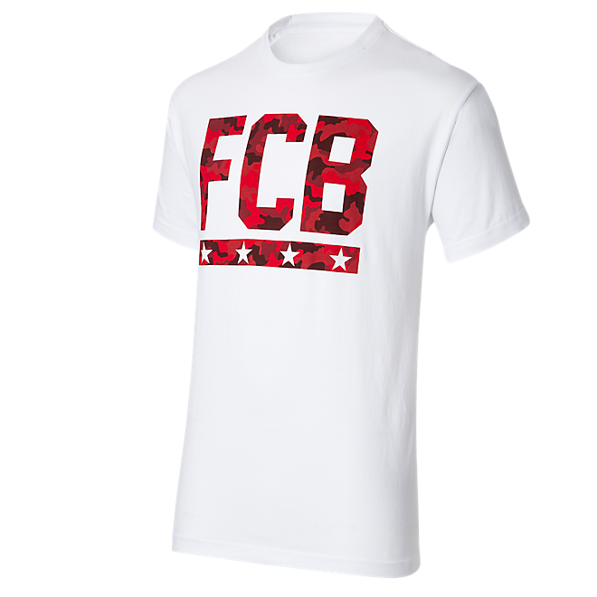 T-Shirt Graphic Camouflage FCB