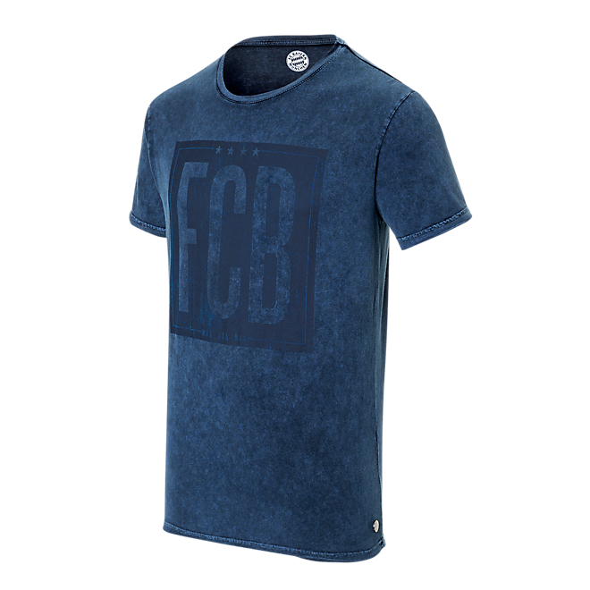 T-Shirt Indigo washed