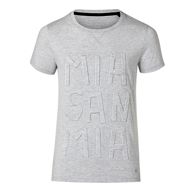 T-Shirt Mia san mia grey