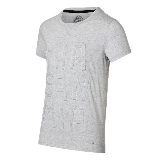 T-Shirt Mia san mia grau