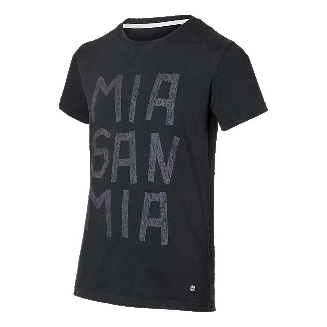 T-Shirt Mia san mia schwarz