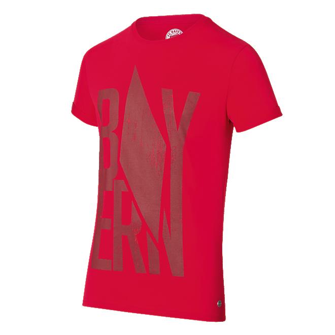 T-Shirt Raute rot