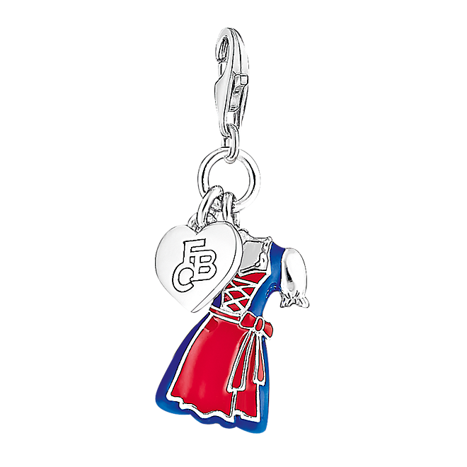 thomas sabo charm dirndl fcb offizieller fc bayern fanshop. Black Bedroom Furniture Sets. Home Design Ideas
